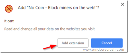 How to block coin miners on your web browser? – WindowsCrush