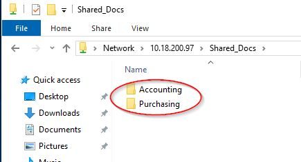 Hide Shared Folders From Those Who Do Not Have Permissions